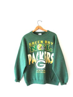 Vintage 1990s Green Bay PACKERS NFL Central Division Beat Up