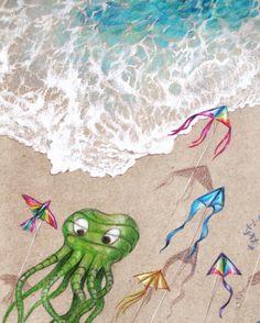2/8 море и пляж. Когда-то гуляя по пляжу острова Вангероге я действительно…