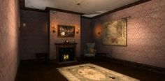 Holiday Nook - Rendered in 3Delight in DAZ Studio 4.9