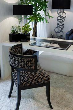 Quarto Preto e Branco *** Black and White Bedroom