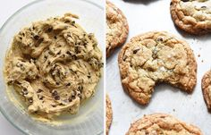 This video shows you how to make the cookies from start to finish: | How To Make The Best Chocolate Chip Cookies Ever