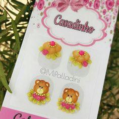 Oi❤ #bearnails  #teddy #teddybear #adesivosdeunhas #adesivosartesanais #peliculas #instanails #luxo #amo