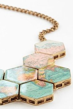 This aptly-named necklace: 23 Travel-Inspired Accessories To Satisfy Your Wanderlust Travel Accessories, Jewelry Accessories, Fashion Accessories, Fashion Jewelry, Jewelry Box, Jewelry Making, Jewellery, Pandora Jewelry, The Bling Ring