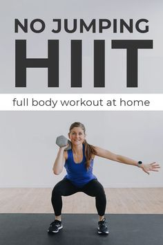 10-Minute Low Impact HIIT Workout for Beginners   Nourish Move Love