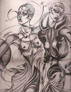 Illustration by Antonio Lopez (1943-1987).