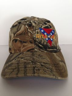 2a54ebfac5f Git R Done Larry The Cable Guy Camo Cap Multi Color One Size