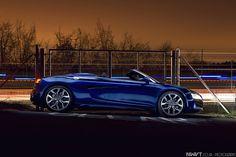 Audi R8 Spyder V10 FSI in Blue Light Painted