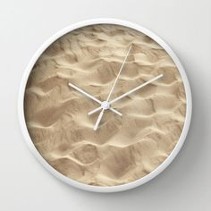 Wall Clock  Sand Dunes  by SYoungPhotography