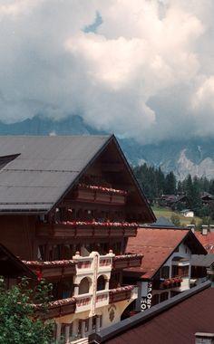 Tyrolean Alps village of Seefeld, Austria 2013