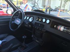 #peugeot #peugeot206 #turbo #ralleycar #classiccar #classicsofinstagram #supercarsunday #losangeles #california #shelflifeshop #interior #dashboard
