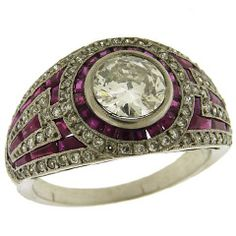 AARON FABER - Ruby Diamond Solitaire