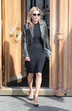 balenciaga perfecto leather jacket | Elbows & Knees