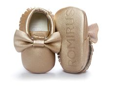 Get 25% off at checkout, use code : kids4less Upper Material:Leather Outsole…cute Mocs!