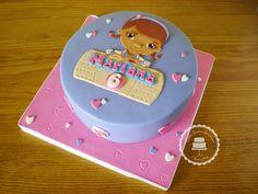 Bolos lindos de comer: Bolo Dra Brinquedos da Mariana / Mariana's Doc McStuffins cake