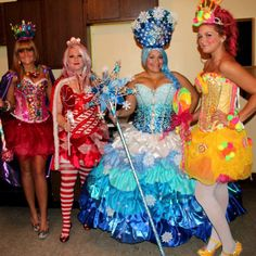 Queen Candy, Ms. Mint, Queen Frostine and Princess Lolli :)
