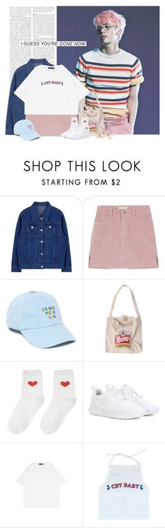 """""""Jonghyun: i guess you´re gone now"""" by yxing ❤ liked on Polyvore featuring UNIF, NIKE, kpop, shinee and jonghyun"""