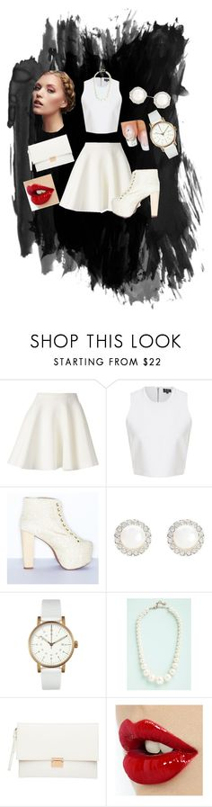 White Out! by just-lynn-fashions on Polyvore featuring MSGM, Jeffrey Campbell, Witchery, Void, Snö Of Sweden, women's clothing, women's fashion, women, female and woman