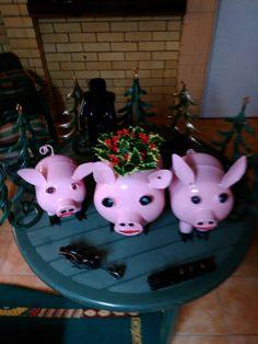 Piggy Bank, Christmas Ornaments, Holiday Decor, Home Decor, Decoration Home, Money Box, Room Decor, Christmas Jewelry, Money Bank