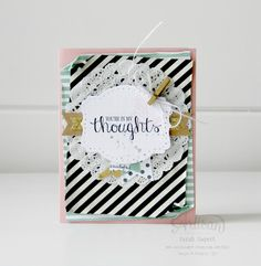 I am LOVING the Best Thoughts Hostess Stamp Set! ~ Sarah Sagert