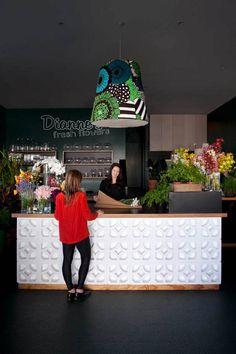 cinder block cash desk?! could be awesome ::  Camille Hermande Architectures