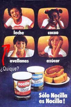 Leche, cacao, avellanas y azucar, NO CI LLA