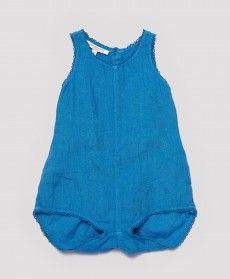 Ezo Baby Romper, Indigo Blue, 3m