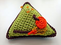 Alfiletero triangular paso a paso