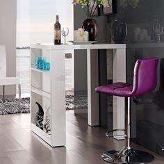 Designer Bartisch HOME, weiß Highgloss, mit seitlichem Regal, 80x108x80cm Bartisch HOME http://www.amazon.de/dp/B00BE1RPKM/ref=cm_sw_r_pi_dp_afi5ub0Z9N5K8