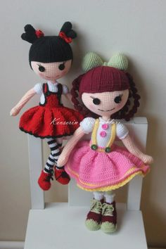 Really like the black white and red doll