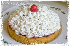 6- Un sablé gourmand aux fraises pour la fête des mamans