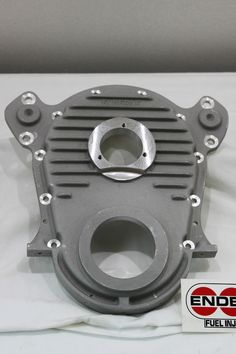 Timing Cover BB Chevy New  Enderle - will fit all 3 bolt pumps- Satin #Enderle