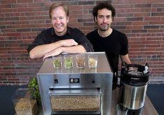 Ex ejecutivos de Microsoft desarrollan máquina para elaborar cervezacasera