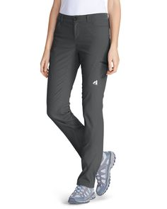 Shop women's pants on sale at Eddie Bauer, a legend in American sportswear. Explore our latest selection of pants for women. satisfaction guaranteed since Womens Fashion Online, Womens Fashion For Work, Best Hiking Pants, Leotard Fashion, Travel Pants, Casual Skirt Outfits, Outdoor Woman, Grunge Fashion, Women's Fashion