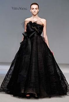 Black Wedding Dresses Vera Bridal Dress