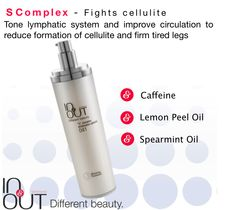"""Fight cellulite and relieve """"Heavy legs"""" sensation with In's """"S"""" Complex Lymphatic System, Cellulite, Natural Skin Care, Personal Care, Legs, Beauty, Organic Skin Care, Personal Hygiene, Beauty Illustration"""