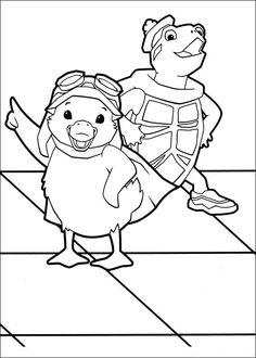 Wonder Pets Coloring Pages 5
