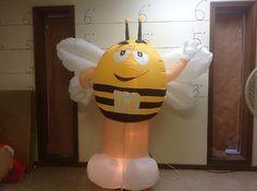Gemmy Prototype Airblown Inflatable Halloween M M as Bee 64406 | eBay
