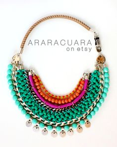 Columbian inspired jewelry, handcrafted in Spain