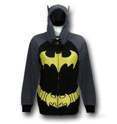 Just for you Caitlyn. Superhero Costume hoodies For Adults Includes Wolverine, Batgirl, TMNT and More! Batman Merchandise, Nananana Batman, Shirt Outfit, T Shirt, Super Hero Costumes, Geek Chic, Costumes For Women, Hoodies, Sweatshirts