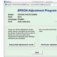 Epson Printer Reset Epson Inkjet Printer, Reset Button, Printer Scanner, Stylus, Style