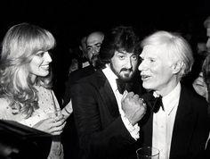 Susan Anton, Sylvester Stallone & Andy Warhol at Studio 54