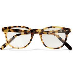 fc3411fd4a Cutler and Gross Tortoiseshell Square-Framed Optical Glasses