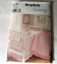 Nursery Bedding Pattern Baby Bedding Pattern by CountryStitching