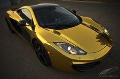Gold McLaren!