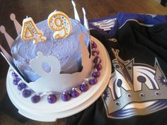 la kings birthday cake