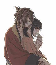 Okita Souji and Yukimura Chizuru