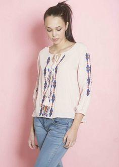 Bluza dama cu broderie stil traditional