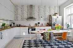 кухня в скандинавском стиле - Поиск в Google
