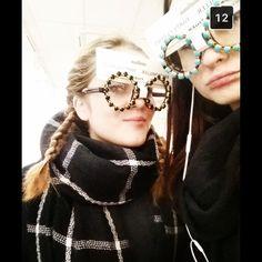 #Glasses #scarf #blackandwhite