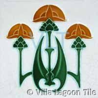 Details of a Art Nouveau Gothic Fireplace Tiles from our range of Ceramic Tiles in the Art Nouveau style Antique Tiles, Vintage Tile, Antique Art, Art Deco Design, Glass Design, Gothic, Art Nouveau Tiles, Bathroom Art, Bathroom Ideas